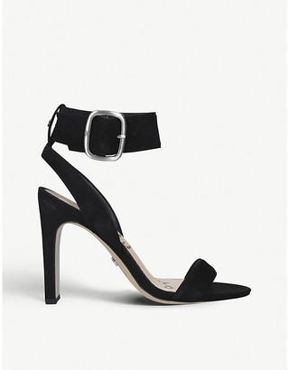 Sam Edelman Yola suede heeled sandals