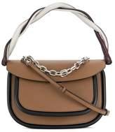 Marni Women's Brown Leather Handbag.
