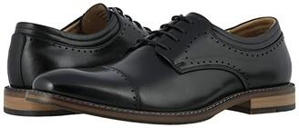 Stacy Adams Flemming Cap Toe Oxford (Black) Men's Shoes