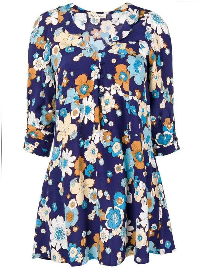For Love & Lemons Magnolia Trapeze mini dress