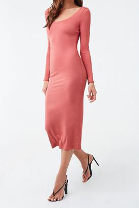 Forever 21 Stretch-Knit Midi Dress