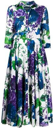 Samantha Sung collar shirt dress