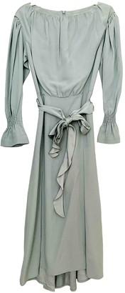 Eudon Choi Green Silk Dress for Women