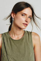 Free People Womens CRESCENT DROP EARRING