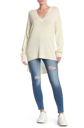 Joie Liamana Wool Blend High/Low Sweater
