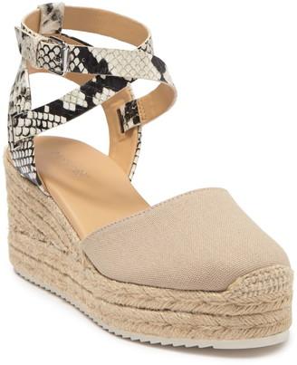 Nine West Ava Espadrille Wedge Sandal