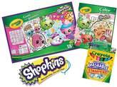 Crayola Shopkins Stationary Bundle
