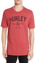 Hurley 'Battle Cat' Graphic Crewneck T-Shirt