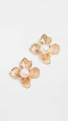 Kenneth Jay Lane Flower Earrings