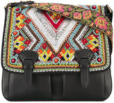 Roberto Cavalli bead embellished satchel - women - Lamb Skin - One Size