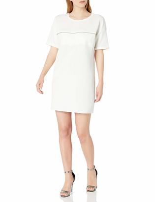 Noisy May Womens Abia 3//4 Sleeve Mini Dress with Cut Out Back