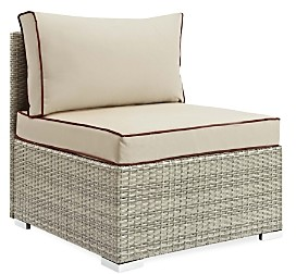 Modway Repose Outdoor Patio Rattan Armless Chair