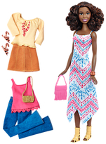 Barbie Fashionistas Boho Fringe Doll and Fashions