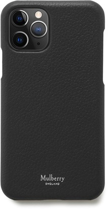 Mulberry iPhone 11 Pro Cover Black Small Classic Grain