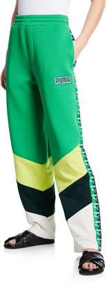 FENTY PUMA by Rihanna Logo Stripe Colorblock Track Pants