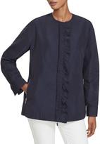 Lafayette 148 New York Arlo Ruffle-Front Jacket
