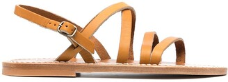 K. Jacques Heracles flat sandals