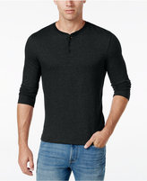 Club Room Men's Herringbone Classic-Fit Henley, Only at Macy's