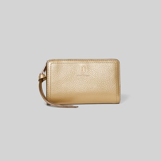 Marc Jacobs The Softshot Pearlized Compact Wallet
