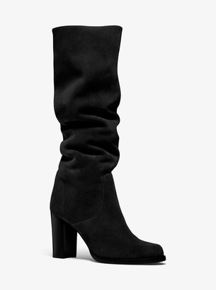 Michael Kors Lucienne Suede Boots
