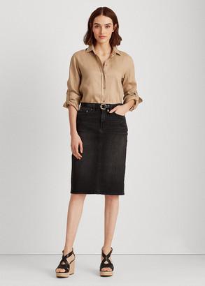 Ralph Lauren Denim Skirt