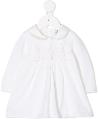 Siola Peter Pan Collar Knitted Dress