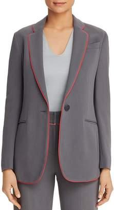 Giorgio Armani Piped Single-Button Blazer