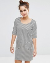 Sister Jane Twiggy Dress In Stripe