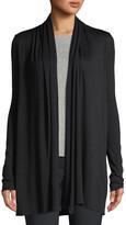 The Row Knightsbridge Open-Front Sweater, Black