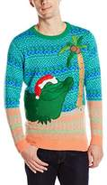Blizzard Bay Men's Holiday Gator Ugly Christmas Sweater