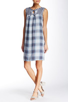 Max Studio Sleeveless Plaid Dress