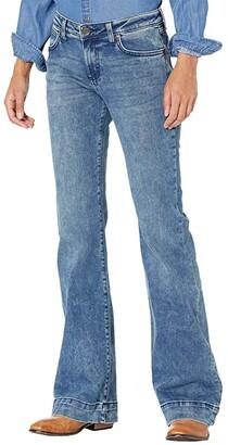 Wrangler Retro Mae Wide Leg Trousers (Vicki) Women's Jeans