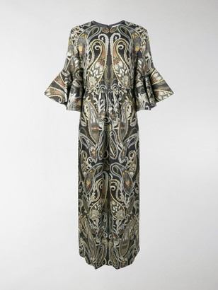 Chloé Lurex Paisley Dress