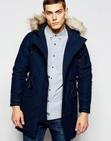 Penfield Shower Proof Paxton Insulated Parka - Blue