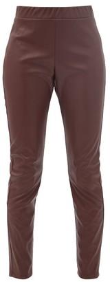 MAX MARA LEISURE Ranghi Trousers - Burgundy