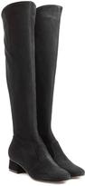 L'Autre Chose LAutre Chose Knee High Suede Boots