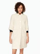 Kate Spade Textured tweed coat