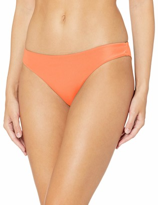 RVCA Junior's Solid Cheeky Bikini Bottom