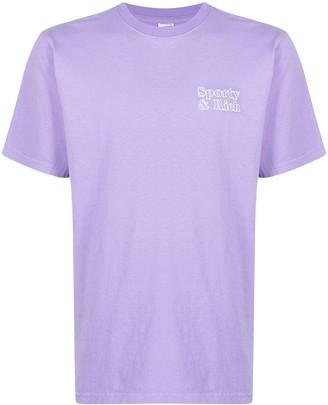 Sporty & Rich Fun logo-print T-shirt