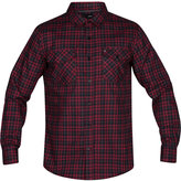 Hurley Men's Cascade Plaid Shirt