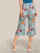 Shein Jungle Print wide leg pants