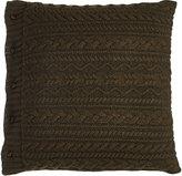 """Ralph Lauren Home Olive Kentville Pillow, 20""""Sq."""