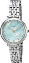 Fossil Women's ES4155 Jacqueline Three-Hand Stainless Steel Watch