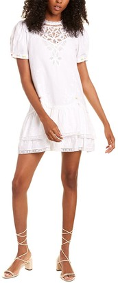 LoveShackFancy Geraldine Mini Dress