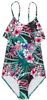 Seafolly Tropical Vacation Ruffle Swimsuit