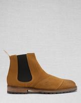 Belstaff Lancaster Ankle Boots Whisky