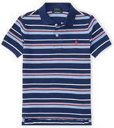 Ralph Lauren 2-7 Striped Cotton Mesh Polo Shirt
