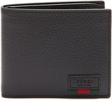 Gucci Agora grained-leather bi-fold wallet