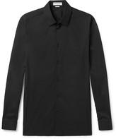 Balenciaga - Slim-fit Stretch Cotton-blend Poplin Shirt