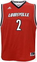 adidas Kids' Louisville Cardinals Replica Basketball Jersey #2